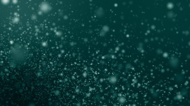 Underwater Particle (Green)
