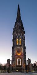 Ruine Sankt Nikolai Turm Hamburg