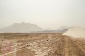 Trip to the Oriental desert Egypt near Safaga, Africa