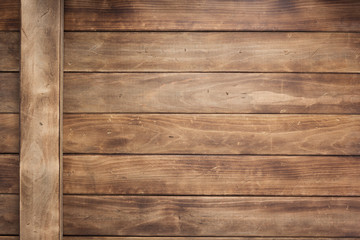 wooden background as texture surface, top view