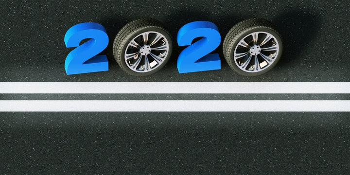 2020 road banner