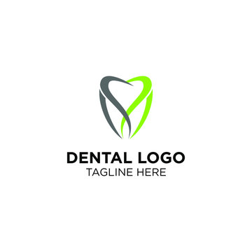 Dental logo, tooth dental logo templates