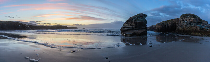 Sunset on the Cantabrica coast!