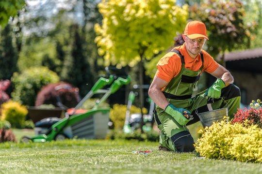 Professional Caucasian Gardener