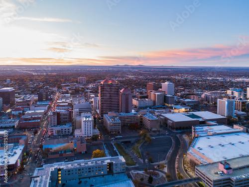 Fototapete Albuquerque Sunset