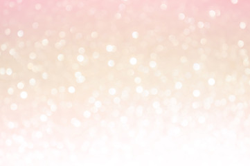 Pink gold, pink bokeh,circle abstract light background,Pink Gold shining lights,sparkling...