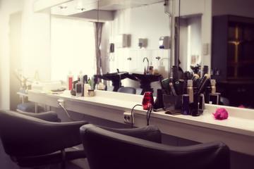 Hairdressing salon interior