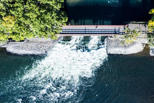 日本のダム 空撮
