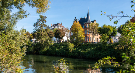 Strasbourg cityscape, Views of Strasbourg city, France, Travel Europe