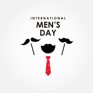 International Men's Day Vector Design Template