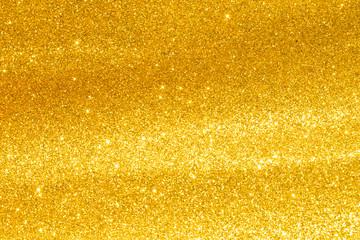 golden bokeh light background