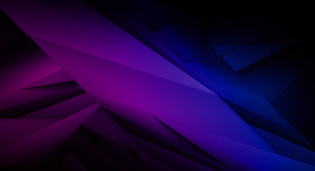 Abstract blue and purple dark background illustration