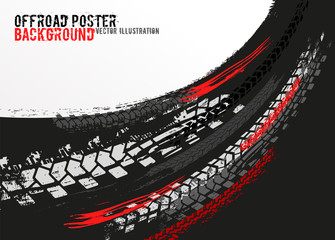 Vector automotive banner template