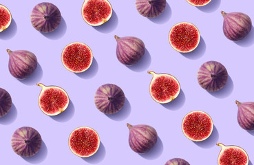 Lamas personalizadas para cocina con tu foto Colorful fruit pattern of fresh figs