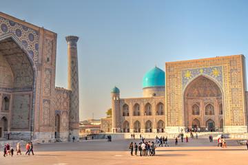 Samarkand, Registan Fototapete