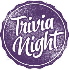 Trivia Night Stamp for Trivia Event Invitation