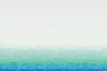 Turkusowe geometryczne tło