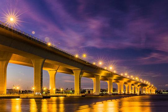 Roosevelt Bridge, Stuart, Florida, St. Lucie River,