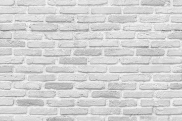 White brick wall Texture Design. Empty white brick Background for Presentations and Web Design. A Lot of Space for Text Composition art image, website, magazine or graphic for design