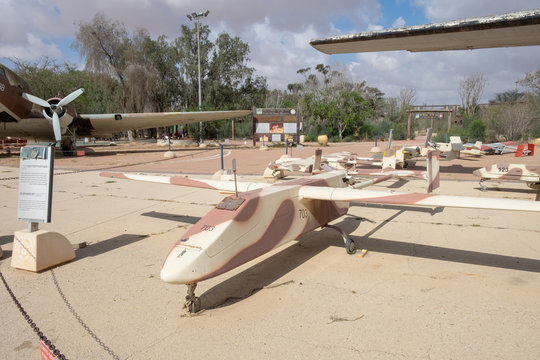 The IAI Scout - reconnaissance unmanned air vehicle developed by Israel Aircraft Industries