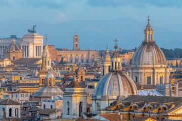 Italy, Lazio, Rome, Skyline