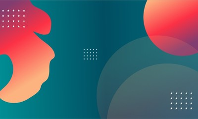 colorfu minimal vector design abstract background