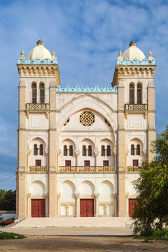 Tunisia, Tunis, Carthage, Byrsa Hill, St Louis Cathedral