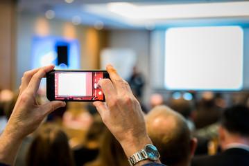 Telephone photo ecran conférence