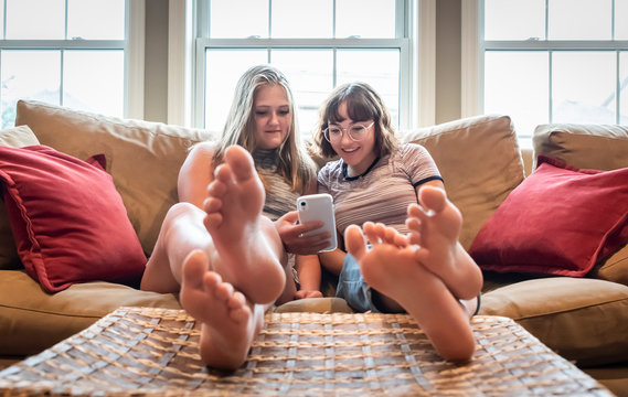 Girl Feet Soles photos, royalty-free