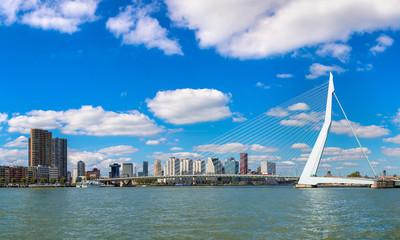 Poster Moyen-Orient Erasmus bridge in Rotterdam