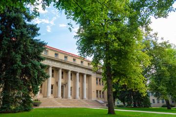 Colorado State University Administrative Building in Fort Collins, Colorado