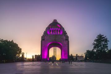 Monument to the Revolution, republic plaza, mexico city