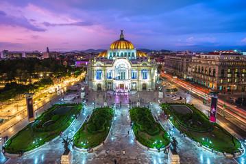 Palacio de Bellas Artes, Palace of Fine Arts, Mexico City Papier Peint
