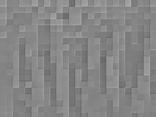 Abstract geometric mosaic pattern. simple monochrome background.