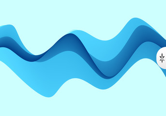 Abstract wavy background with dynamic effect. Motion vector illustration. Can be used for advertising, marketing, presentation.