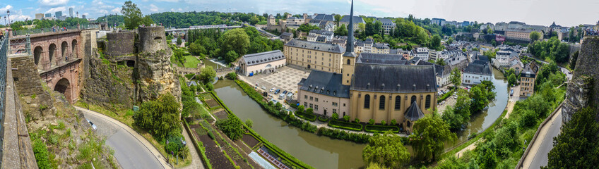 Luxembourg Stadt Panorama