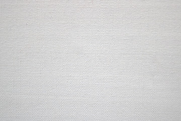 white canvas surface - fabric material texture in a blank background