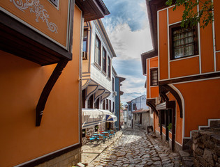Foto op Canvas Oost Europa Plovdiv, Bulgaria, Old Town, Essen_6