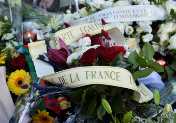 Ceremony marking the fourth anniversary of the Paris attacks