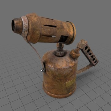 Rusty blow torch