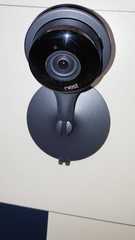 google Nest home smart service camera black