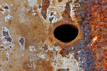 Corroded metal Abstract