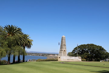 The War Memorial in Kings Park Perth, Western Australia