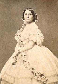 Harriet Lane, niece of James Buchanan, 14th President of the Us