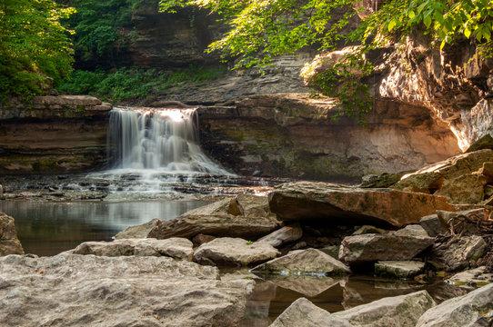 McCormick's Creek Waterfall