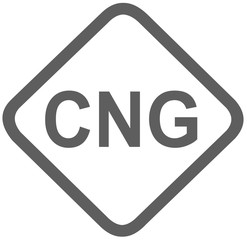 cng compressed natural gas fuel sign -  fuel designations in the European Union - clean fuel - fuel alternative - codes - sticker - standardised