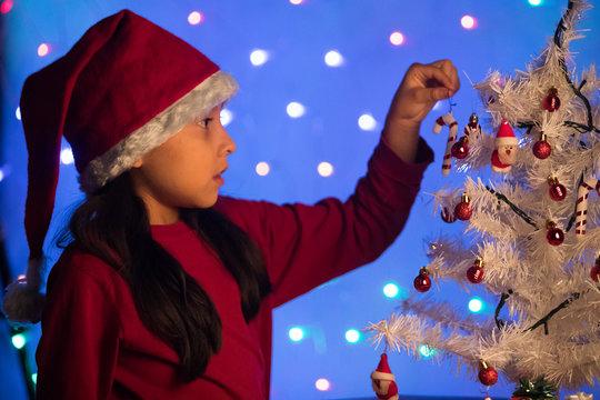 Adornando la navidad