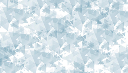 blue abstract polygonal illustration  triangles background