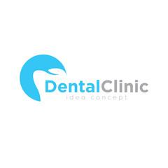 Dental Concept Logo Design Template