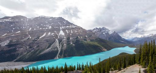 Kanada, Peyto Lake am Icefields Parkway, Canadian Rockies